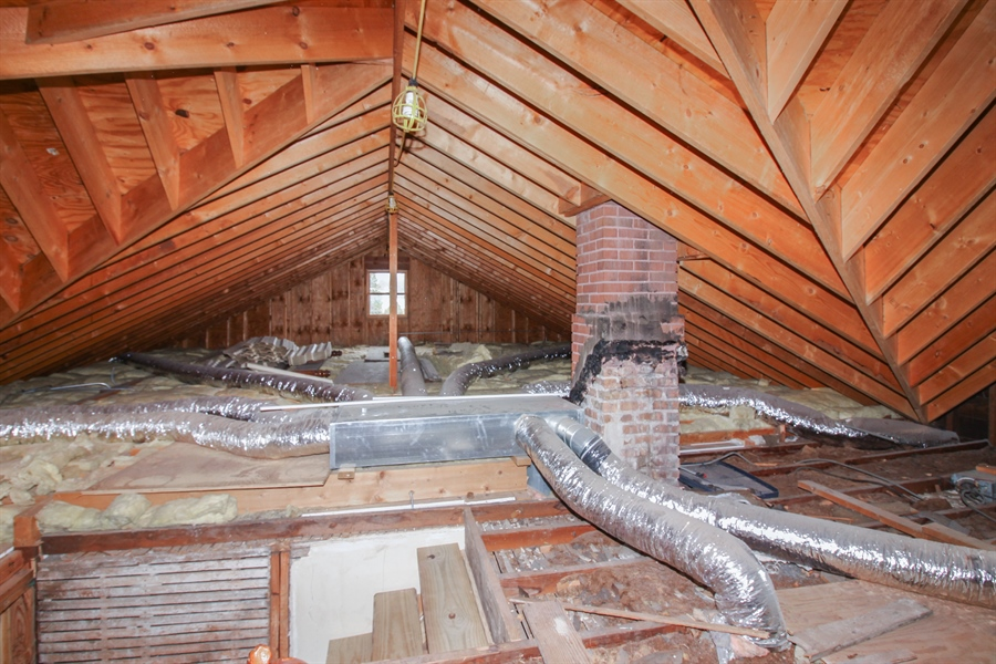 Real Estate Photography - 426 Gierz, Downers Grove, IL, 60515 - Attic