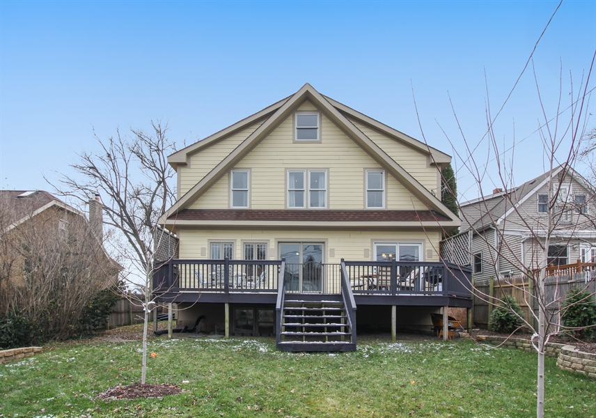 Real Estate Photography - 426 Gierz, Downers Grove, IL, 60515 - Rear View
