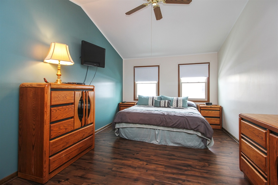 Real Estate Photography - 9323 Wherry, Orland Park, IL, 60467 - Master Bedroom