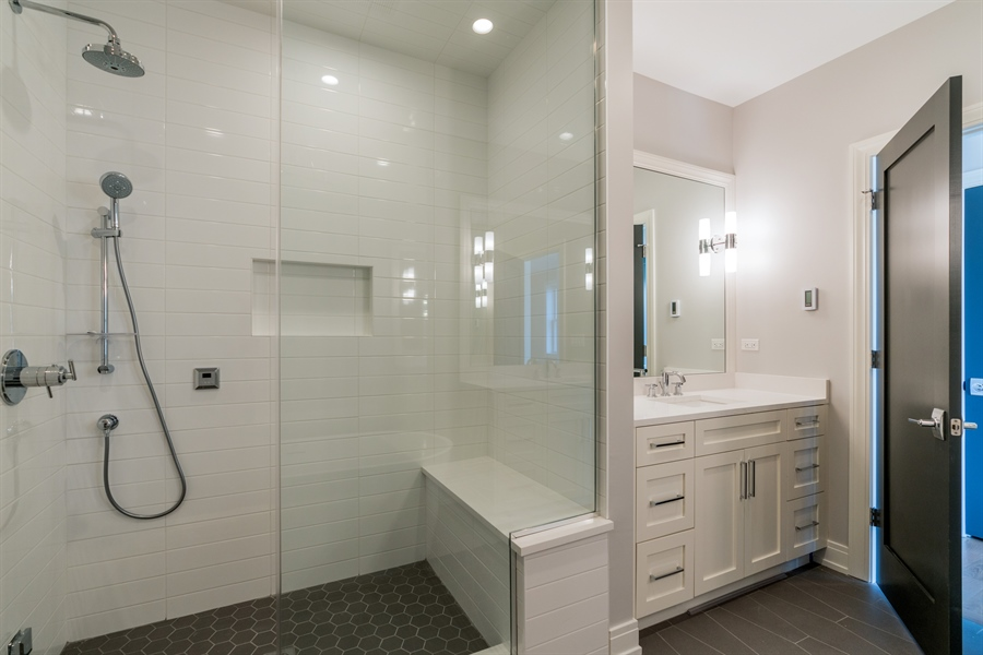 Real Estate Photography - 1630 Warren, Unit 2, Chicago, IL, 60612 - Master Bathroom