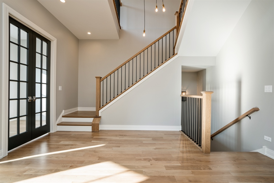 Real Estate Photography - 1630 Warren, Unit 2, Chicago, IL, 60612 - Staircase