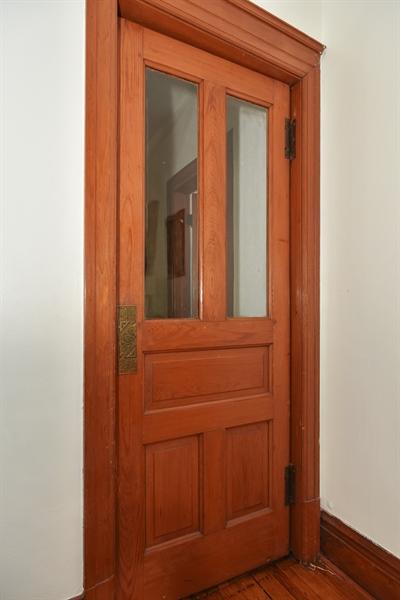 Real Estate Photography - 1943 W Belle Plaine, Chicago, IL, 60613 - 2nd floor interior door