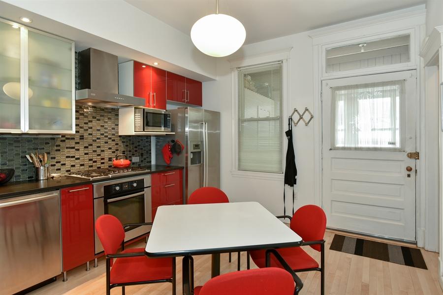 Real Estate Photography - 1943 W Belle Plaine, Chicago, IL, 60613 - Kitchen