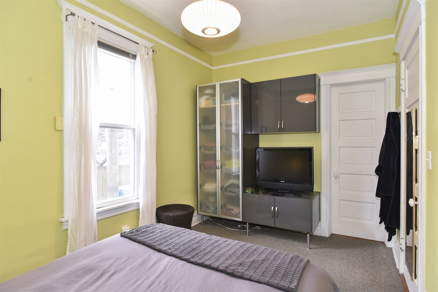 Real Estate Photography - 1943 W Belle Plaine, Chicago, IL, 60613 - Master Bedroom