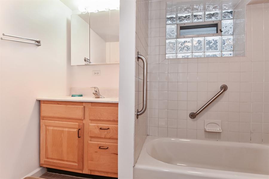 Real Estate Photography - 1943 W Belle Plaine, Chicago, IL, 60613 - Basement Bath