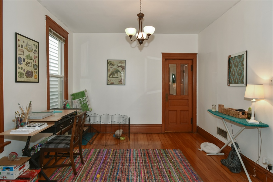 Real Estate Photography - 1943 W Belle Plaine, Chicago, IL, 60613 - Dining Area