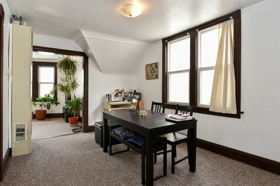 Real Estate Photography - 1943 W Belle Plaine, Chicago, IL, 60613 - Dining Room