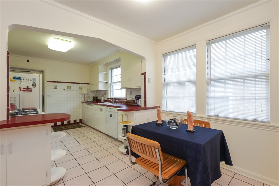 Real Estate Photography - 6153 N Kedvale, Chicago, IL, 60646 - Kitchen
