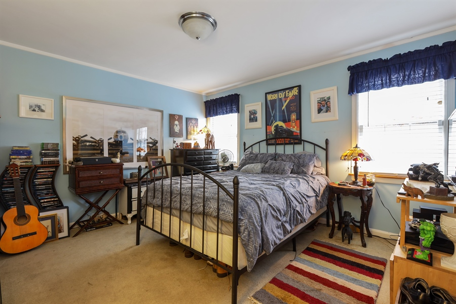 Real Estate Photography - 6153 N Kedvale, Chicago, IL, 60646 - Bedroom