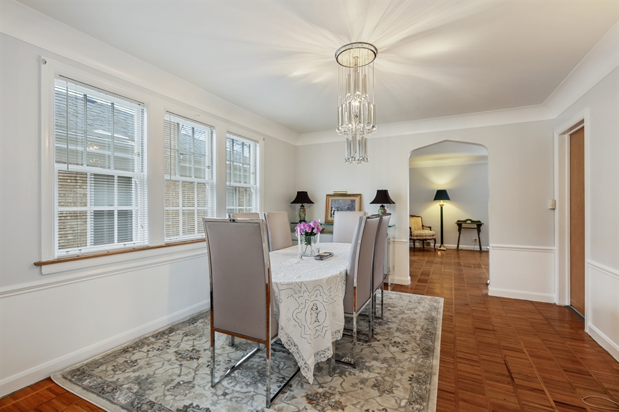 Real Estate Photography - 6153 N Kedvale, Chicago, IL, 60646 - Dining Room