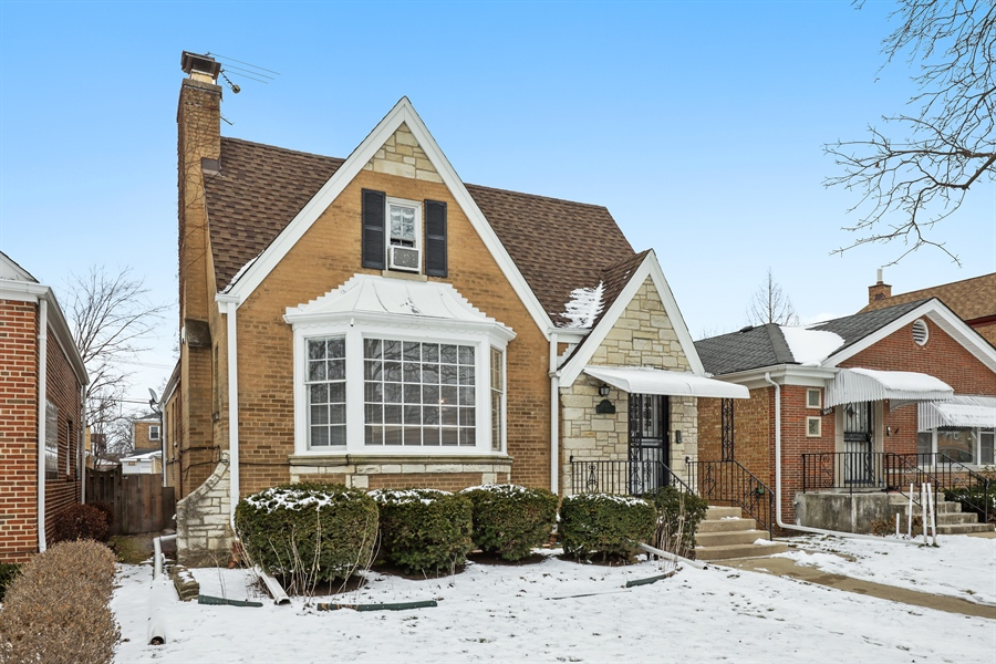 Real Estate Photography - 6153 N Kedvale, Chicago, IL, 60646 - Front View