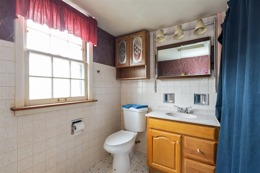 Real Estate Photography - 6153 N Kedvale, Chicago, IL, 60646 - 2nd Bathroom