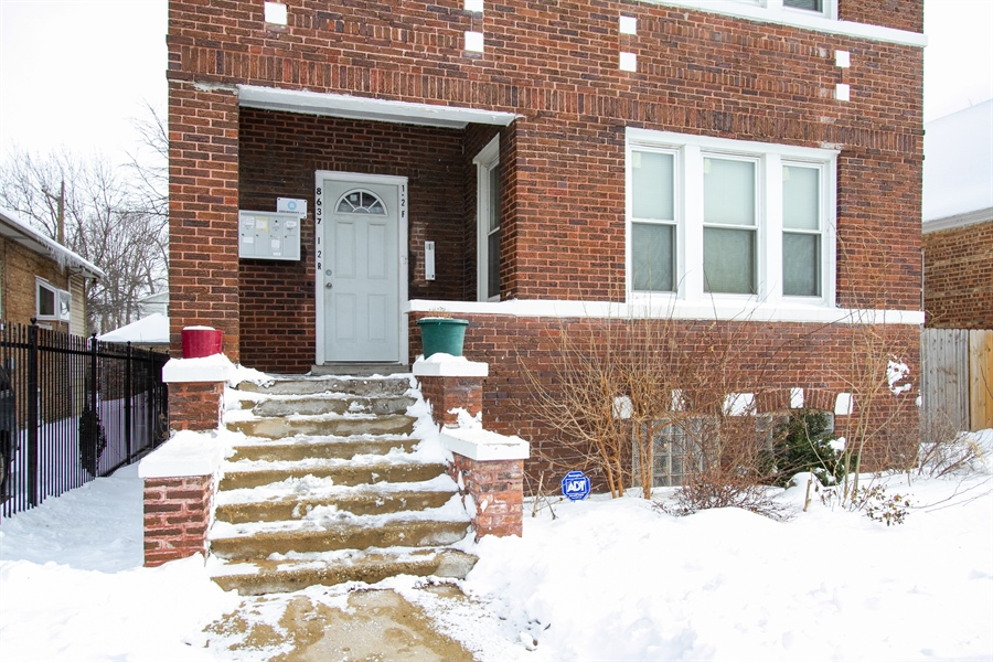 Real Estate Photography - 8637 S Saginaw Ave, Chicago, IL, 60617 - Front View