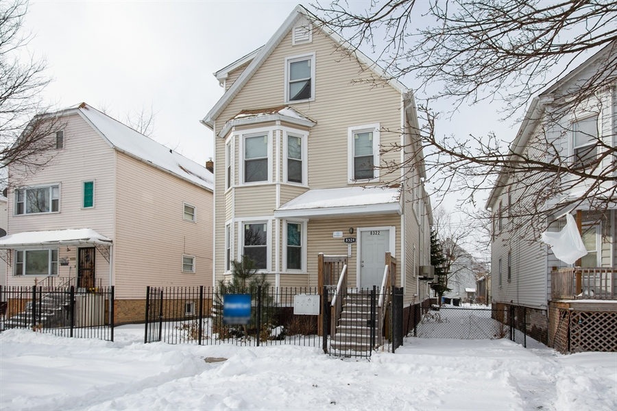 Real Estate Photography - 8322 S Houston Ave, Chicago, IL, 60617 - Front View