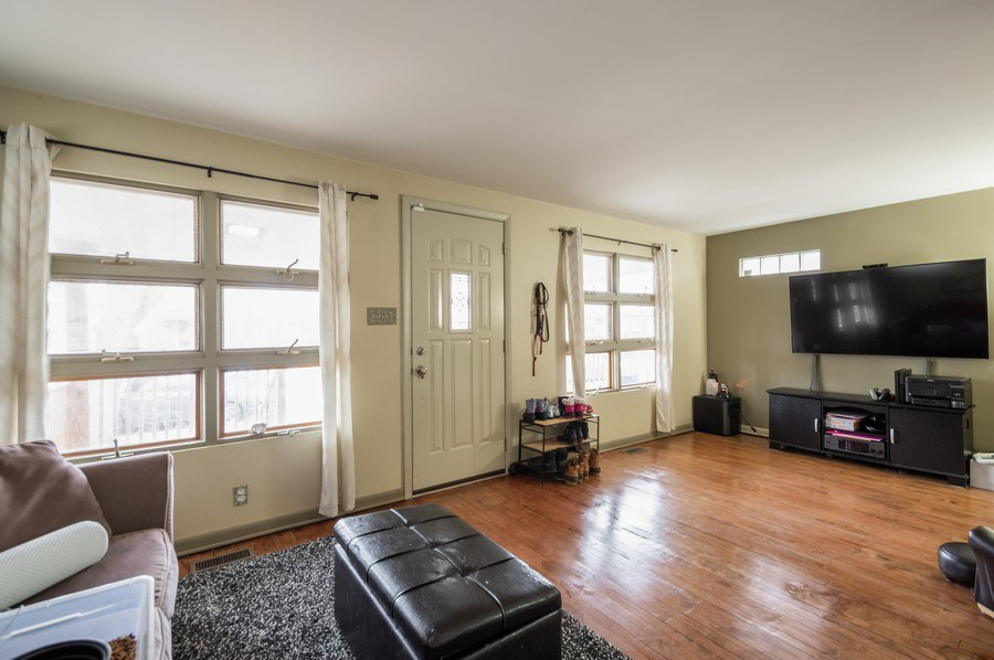 Real Estate Photography - 3511 N Normandy, Chicago, IL, 60634 - Living Room