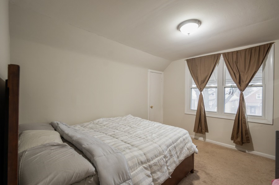 Real Estate Photography - 3511 N Normandy, Chicago, IL, 60634 - Bedroom