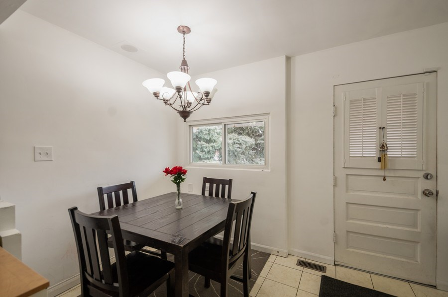 Real Estate Photography - 3511 N Normandy, Chicago, IL, 60634 - Dining Area