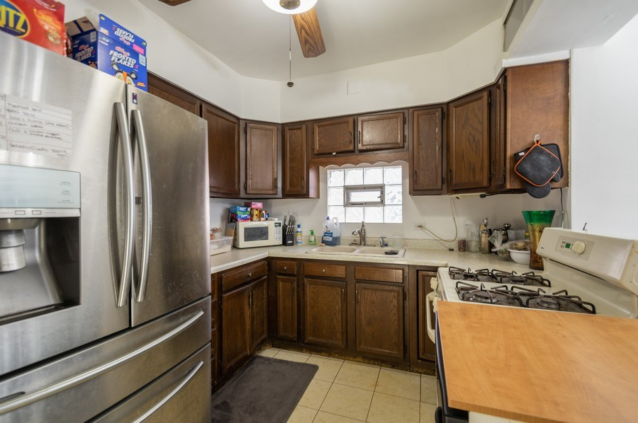 Real Estate Photography - 3511 N Normandy, Chicago, IL, 60634 - Kitchen