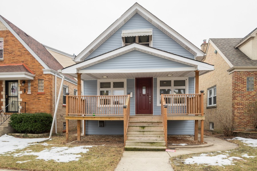 Real Estate Photography - 3511 N Normandy, Chicago, IL, 60634 - Front View