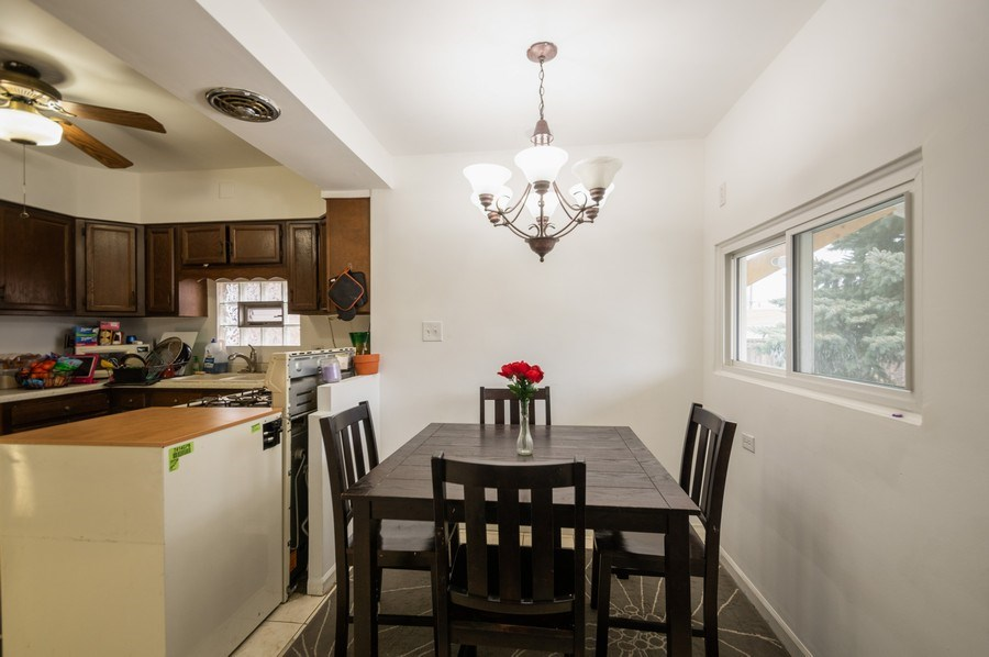 Real Estate Photography - 3511 N Normandy, Chicago, IL, 60634 - Kitchen/Dining