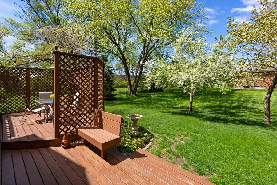 Real Estate Photography - 922 Krista Ct, Palatine, IL, 60074 - Deck