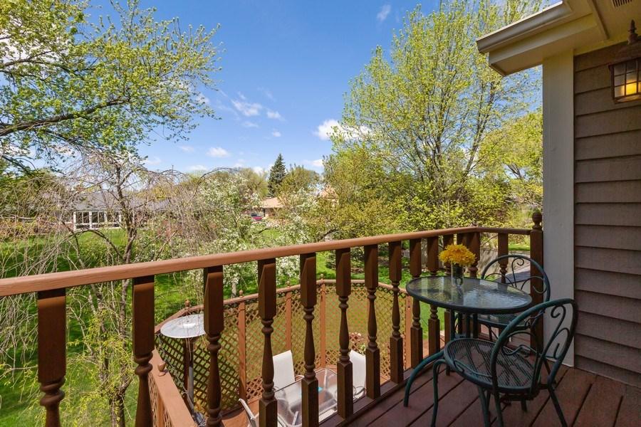 Real Estate Photography - 922 Krista Ct, Palatine, IL, 60074 - Balcony