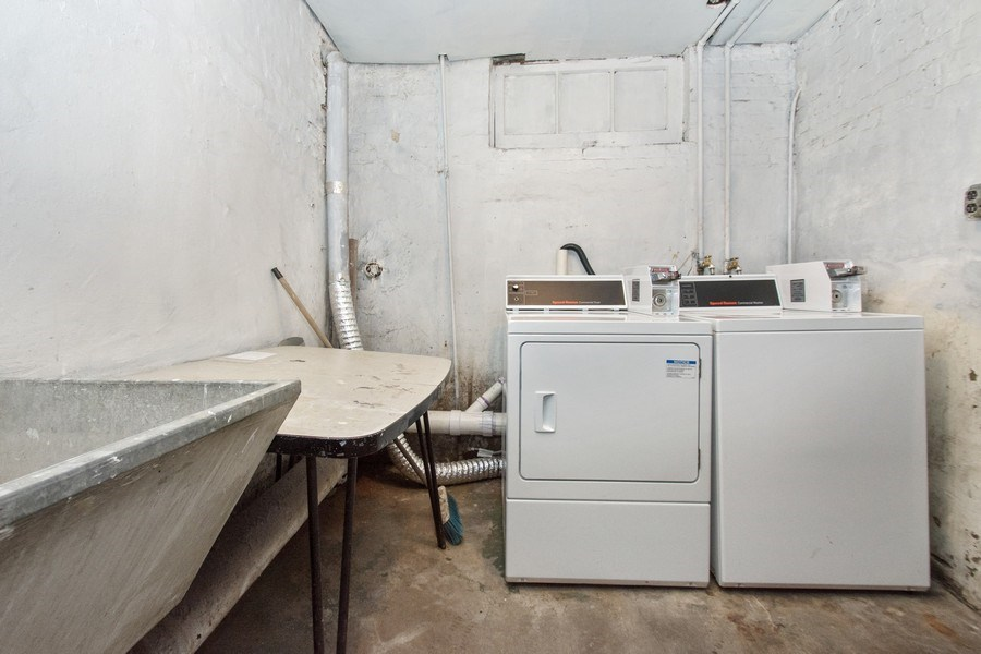 Real Estate Photography - 5702-04 W 65thS, Chicago, IL, 60638 - Laundry Room