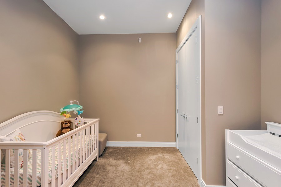 Real Estate Photography - 415 W Superior, Unit 200, Chicago, IL, 60654 - 3rd Bedroom