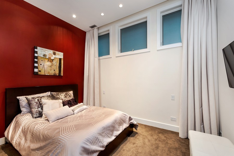 Real Estate Photography - 415 W Superior, Unit 200, Chicago, IL, 60654 - Bedroom