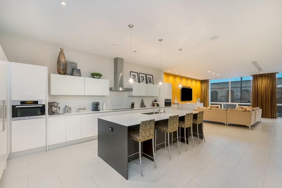 Real Estate Photography - 415 W Superior, Unit 200, Chicago, IL, 60654 - Kitchen