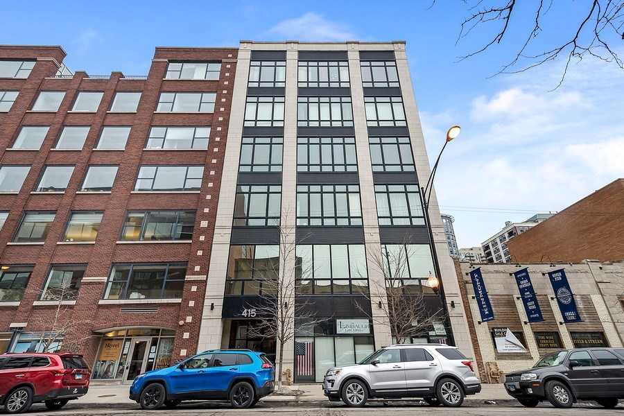 Real Estate Photography - 415 W Superior, Unit 200, Chicago, IL, 60654 - Front View