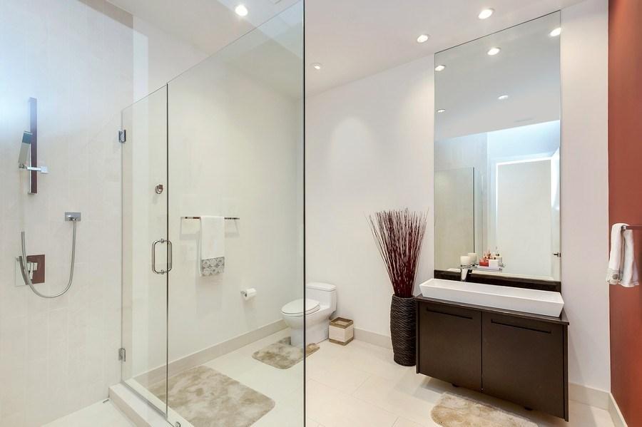 Real Estate Photography - 415 W Superior, Unit 200, Chicago, IL, 60654 - Bathroom