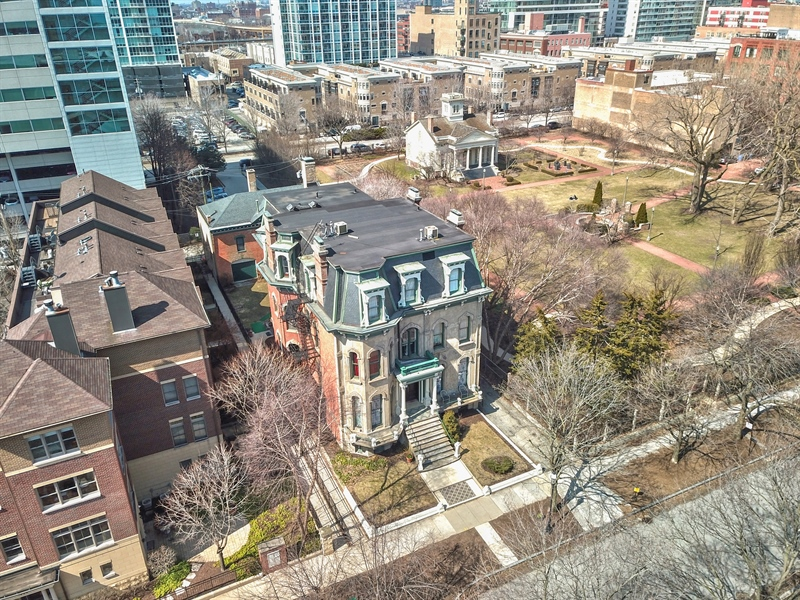 Real Estate Photography - 1900 S Prairie Ave, Chicago, IL, 60616 - Aerial View