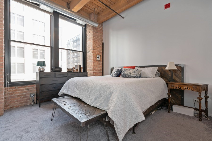 Real Estate Photography - 728 W Jackson, Unit 221, Chicago, IL, 60661 - Master Bedroom