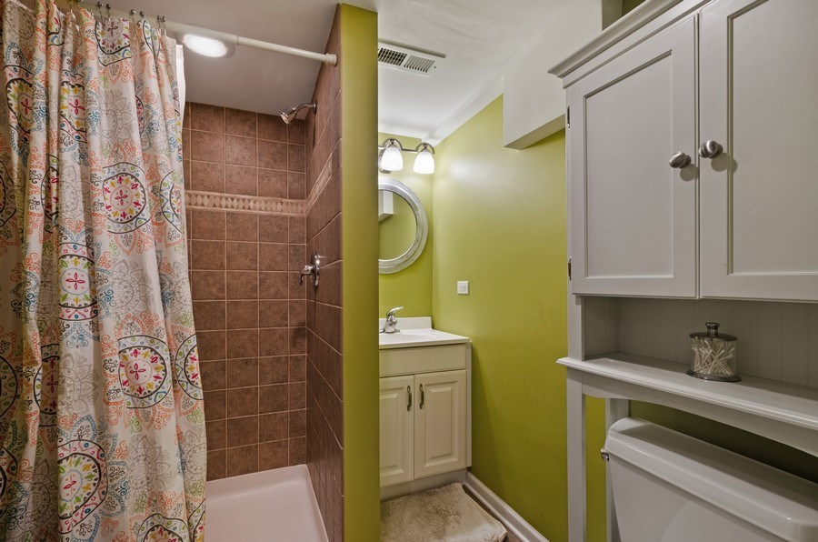Real Estate Photography - 6942 N Oriole, Chicago, IL, 60631 - 3rd Bathroom
