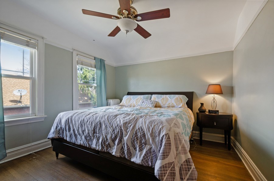 Real Estate Photography - 6942 N Oriole, Chicago, IL, 60631 - Master Bedroom