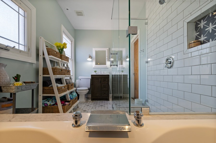 Real Estate Photography - 6942 N Oriole, Chicago, IL, 60631 - Master Bathroom