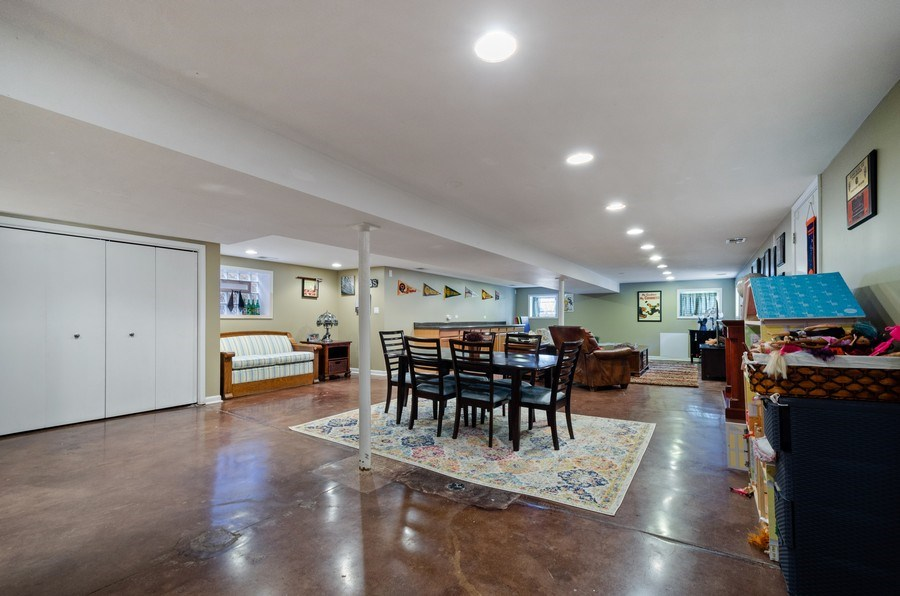 Real Estate Photography - 6942 N Oriole, Chicago, IL, 60631 - Recreational Room