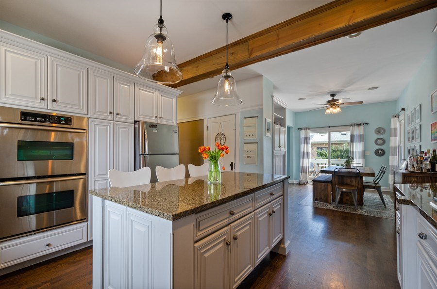Real Estate Photography - 6942 N Oriole, Chicago, IL, 60631 - Kitchen / Breakfast Room