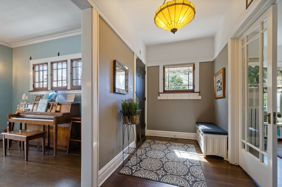 Real Estate Photography - 6942 N Oriole, Chicago, IL, 60631 - Mudroom