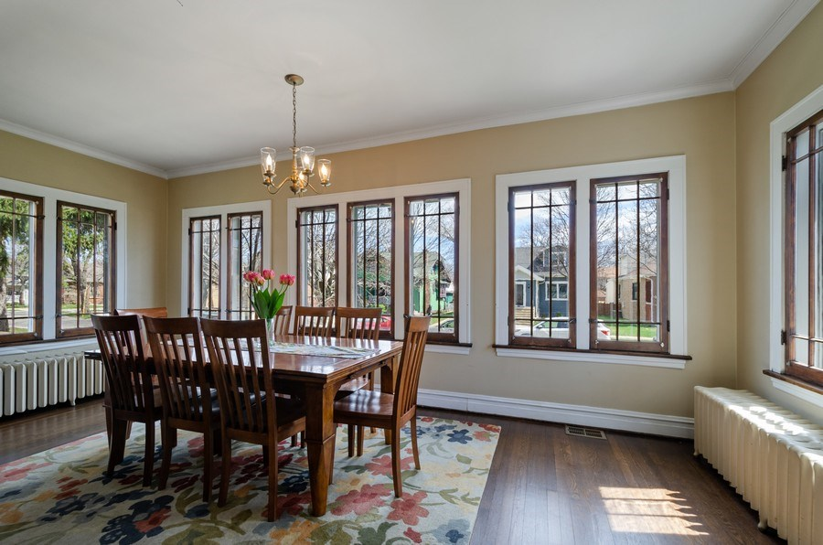 Real Estate Photography - 6942 N Oriole, Chicago, IL, 60631 - Dining Room