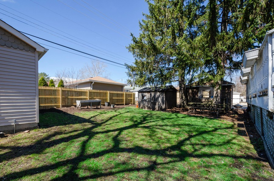 Real Estate Photography - 6942 N Oriole, Chicago, IL, 60631 - Back Yard