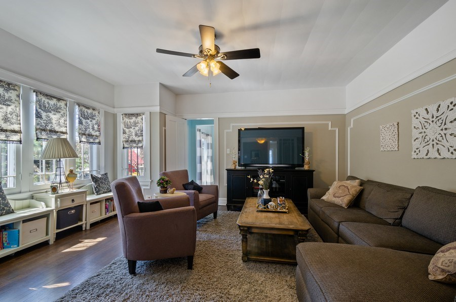 Real Estate Photography - 6942 N Oriole, Chicago, IL, 60631 - Family Room