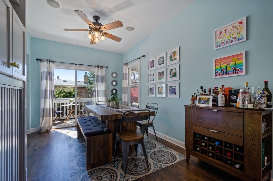 Real Estate Photography - 6942 N Oriole, Chicago, IL, 60631 - Breakfast Area