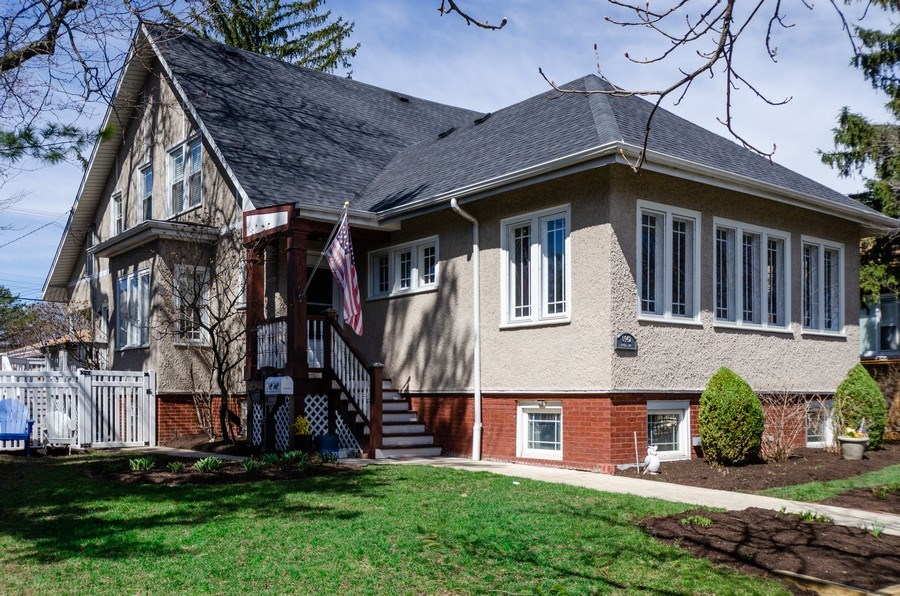 Real Estate Photography - 6942 N Oriole, Chicago, IL, 60631 - Front View