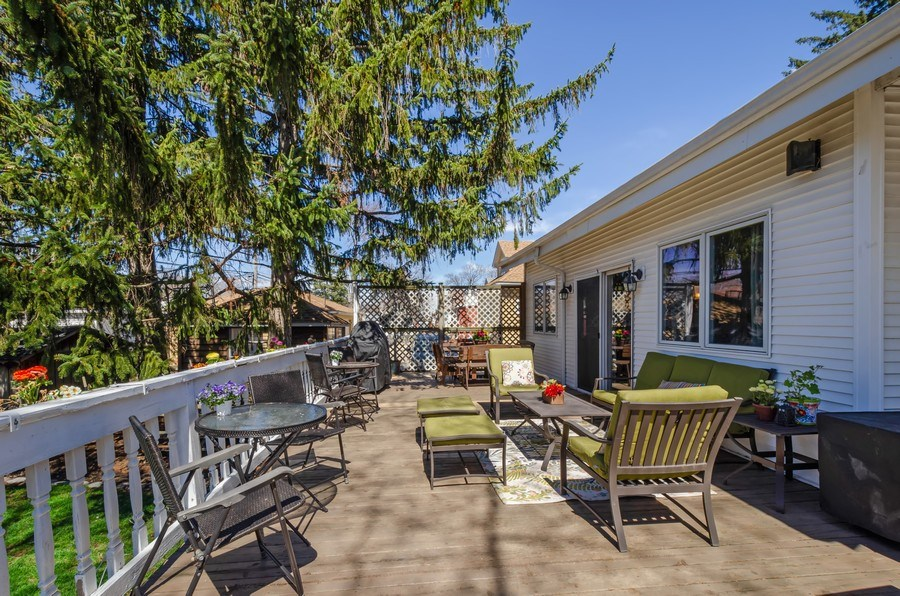 Real Estate Photography - 6942 N Oriole, Chicago, IL, 60631 - Deck