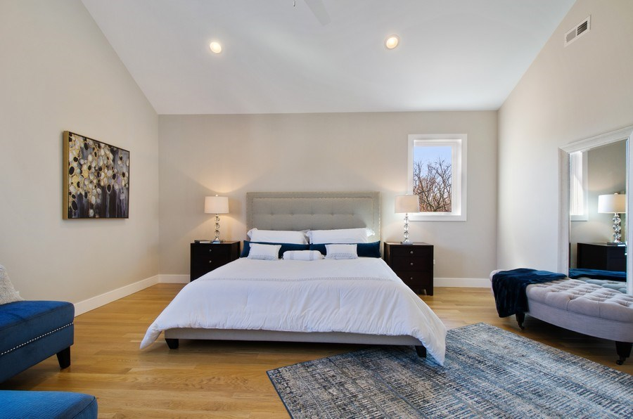 Real Estate Photography - 5615 N Kostner, Chicago, IL, 60646 - Master Bedroom