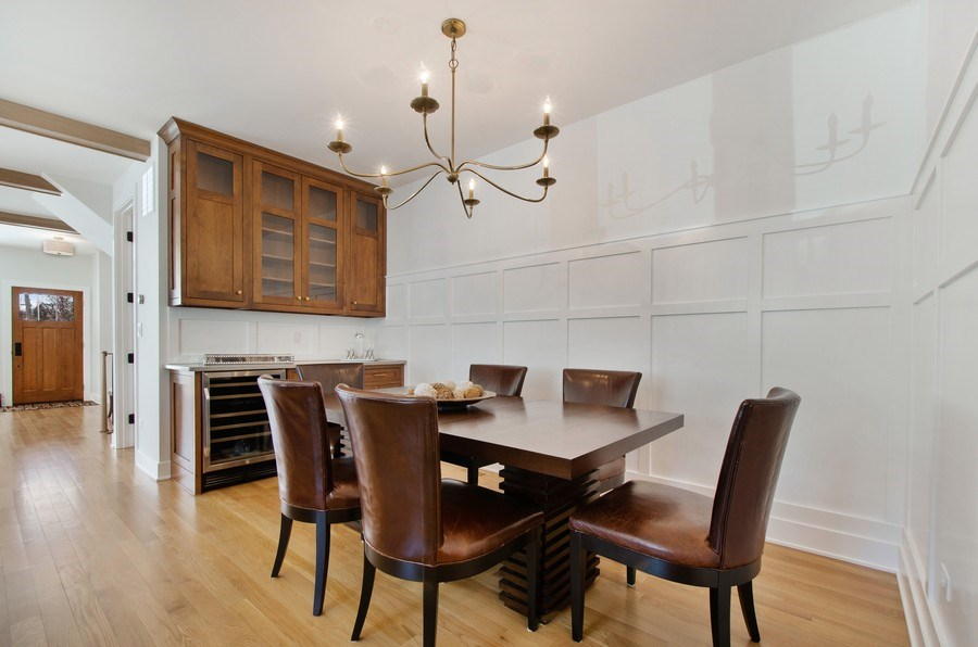 Real Estate Photography - 5615 N Kostner, Chicago, IL, 60646 - Dining Room