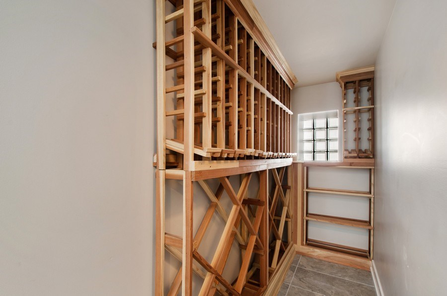 Real Estate Photography - 5615 N Kostner, Chicago, IL, 60646 - Wine Cellar