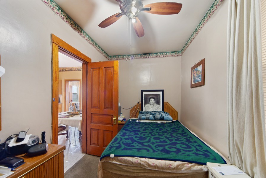 Real Estate Photography - 1831 W Berwyn, Chicago, IL, 60640 - Master Bedroom